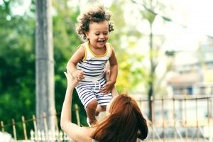 Baby Laughing While Being Thrown in the Air