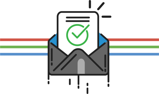 Mail Subscription Icon | GDTech | Global Dynamic Technology
